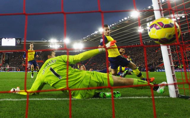 Wojciech Szczesny Arsenal Southampton