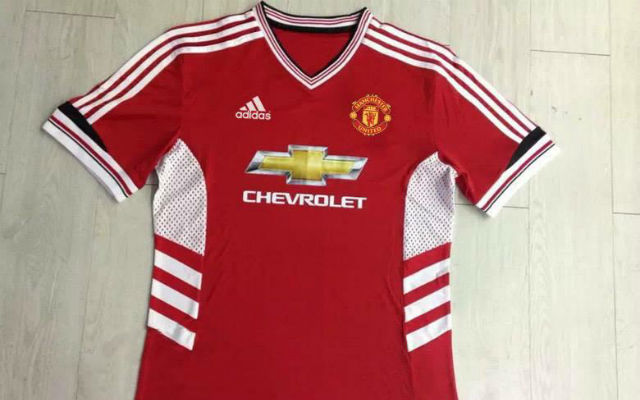 watch 755dd 09cfc Image Gallery) The Best Rumoured Man United Adidas Shirts ...