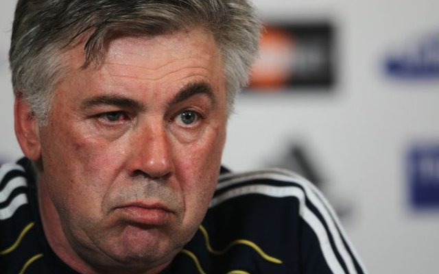 Carlo Ancelotti eyebrow