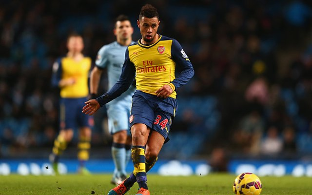 Francis Coquelin Arsenal Man City