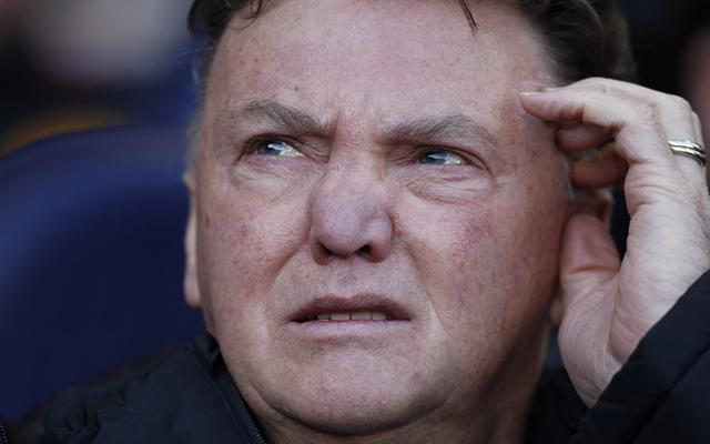 Louis Van Gaal Man United