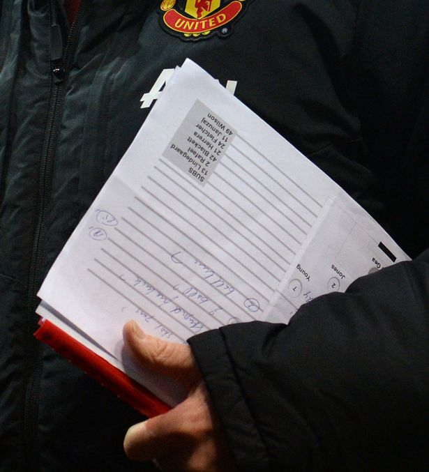 Louis-van-Gaal-carries-his-match-notes-off-the-pitch-1