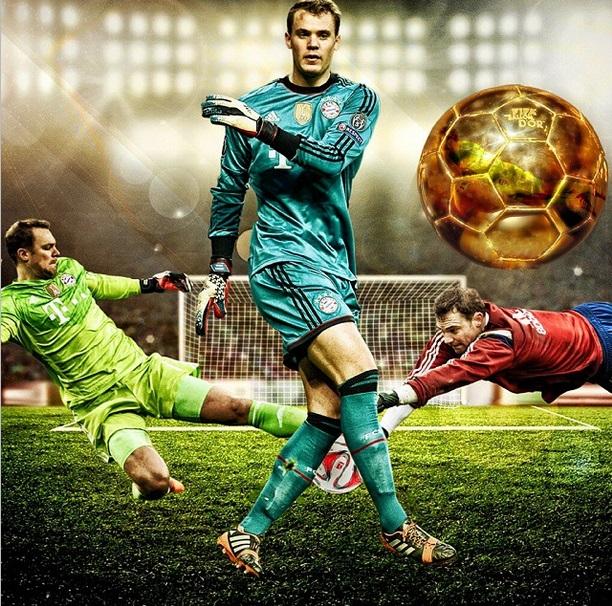 Manuel Neuer Bayern Munich Ballon d'Or