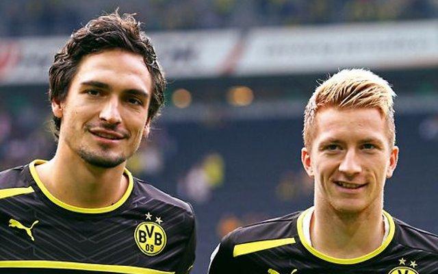 Mats Hummels Marco Reus Borussia Dortmund