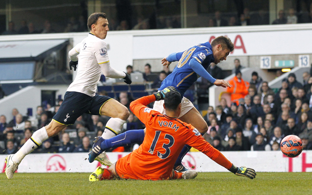 FBL-ENG-FA CUP-TOTTENHAM-LEICESTER