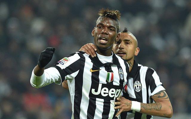 Paul Pogba Arturo Vidal Juventus