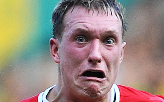 Phil Jones Face Manchester United