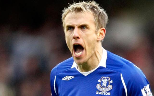 Phil Neville Everton