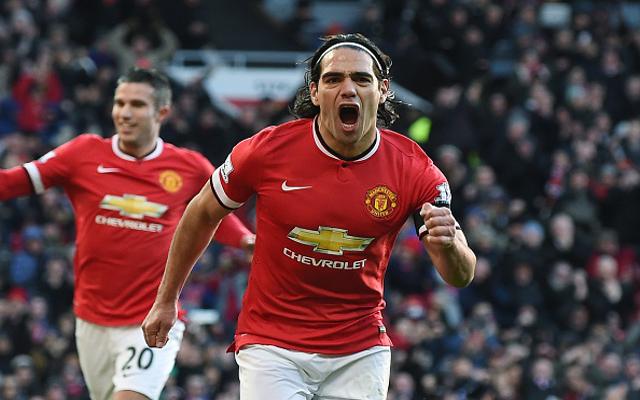 Radamel Falcao Man United