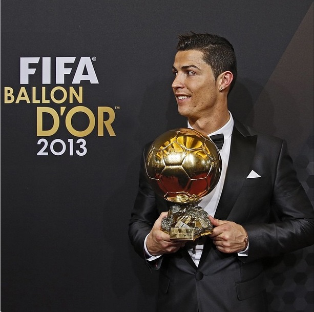 Real Madrid Ronaldo Ballon d'Or