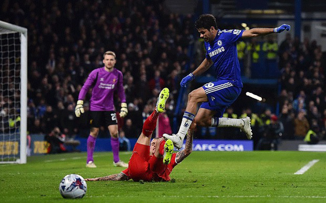 diego costa chelsea stamp