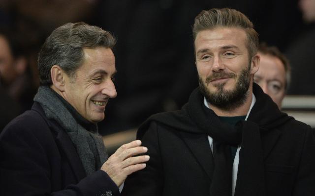 Beckham PSG Chelsea