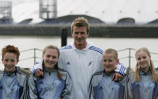 David Beckham Harry Kane