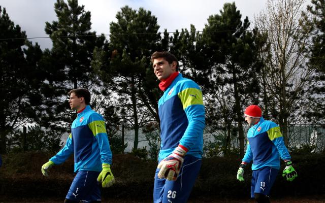David Ospina Wojciech Szczesny Emiliano Martinez Arsenal