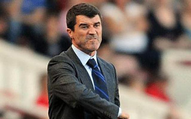 Roy Keane Angry
