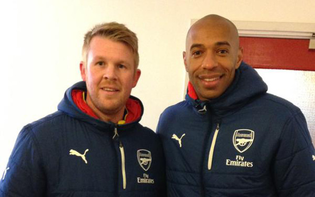 Thierry Henry Arsenal Coaching