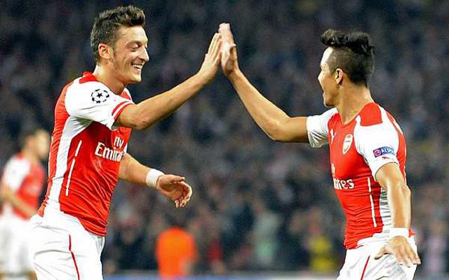 Mesut Ozil Alexis Sanchez: Stats Prove Arsenal's Mesut Ozil Is Better Than Angel Di