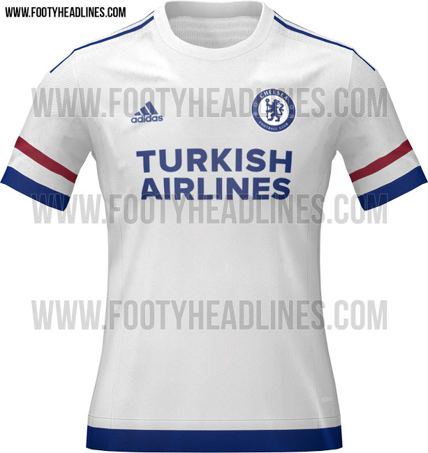 new product 7e9ea d4284 Images) Leaked: Chelsea Home, Away and Third Adidas Kits for ...