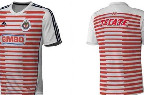 the latest b1fa6 b5d6d Image) Fans Furious: Is This CD Guadalajara's New Home Kit ...