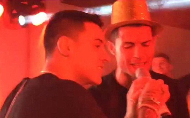 cristiano ronaldo karaoke