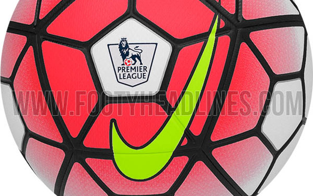 f7929ce574ccb Leaked images reveal eye-catching 2015 16 Premier League Nike Ordem football