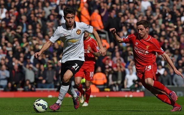 Ander Herrera Man Utd Liverpool