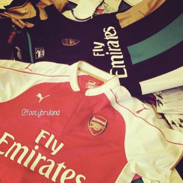 Arsenal kits