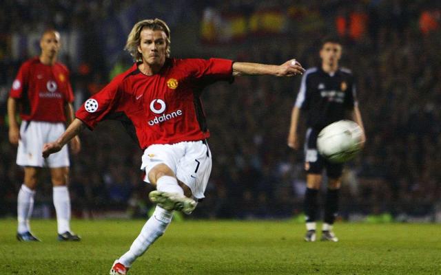 David Beckham Man Utd Real Madrid
