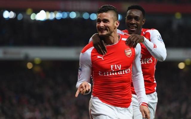 Giroud Welbeck Arsenal
