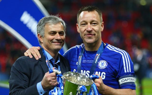 John Terry - Jose Mourinho