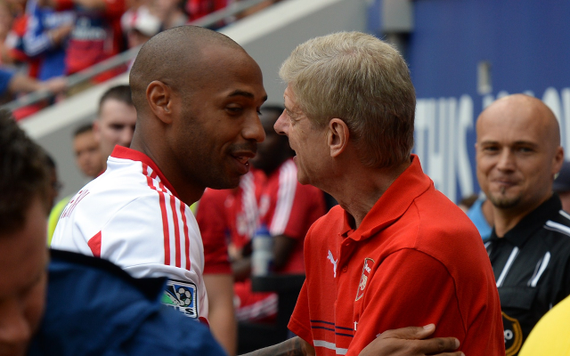 Thierry Henry - Arsene Wenger