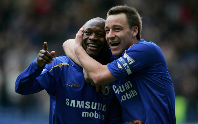 William Gallas and John Terry - Chelsea
