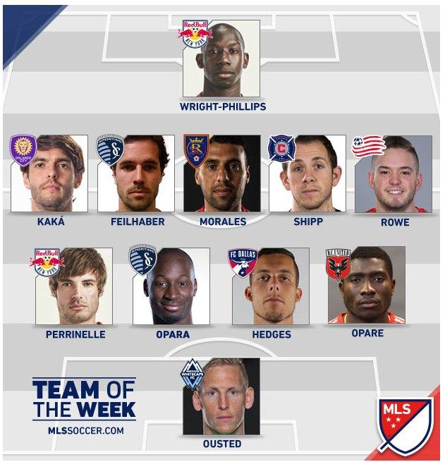 team of the week mls