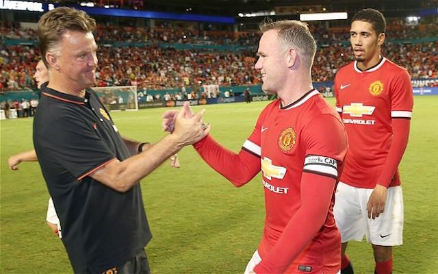 Liverpool Vs Man United: Van Gaal Vows To Help Rooney