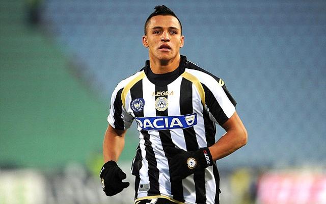Alexis Sanchez Udinese