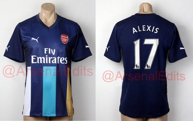 Arsenal 3rd shirt