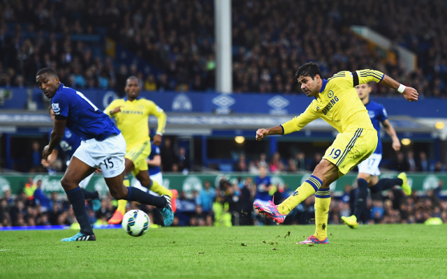 Diego Costa vs Everton - Chelsea