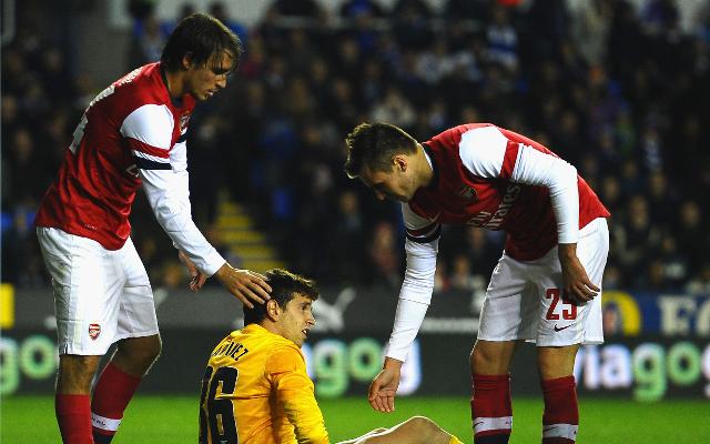 Ignasi Miquel, Carl Jenkinson & Damian Martinez - Arsenal