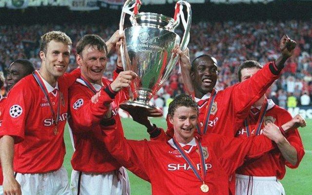 Manchester United Champions League Trophy