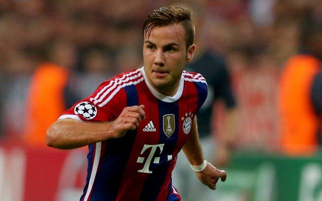 Mario Gotze Bayern Munich
