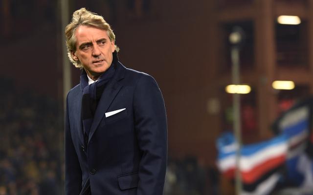Roberto Mancini Inter Milan