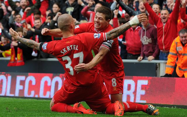 Steven Gerrard & Martin Skrtel - Liverpool