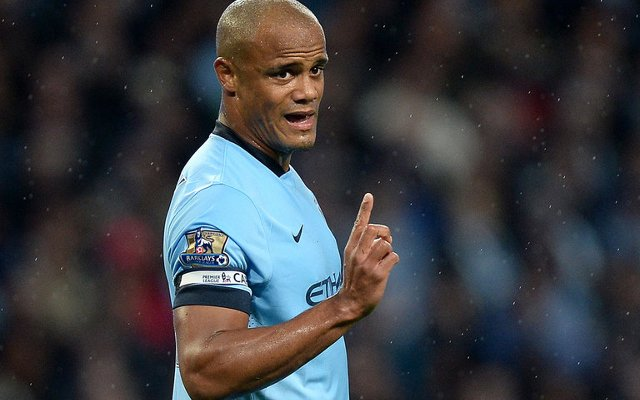 Vincent Kompany Man City
