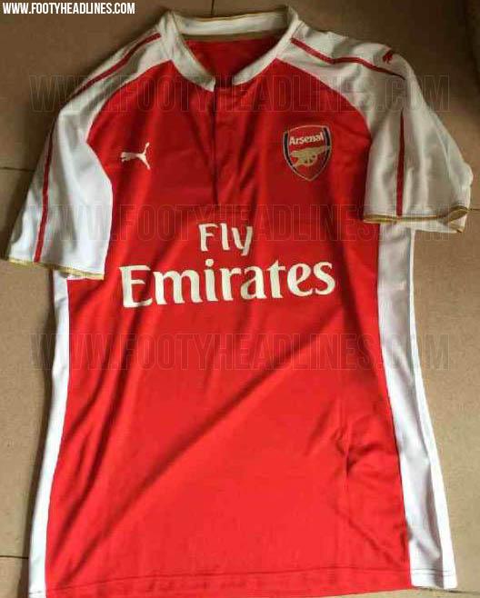 Arsenal 2015/16 kit