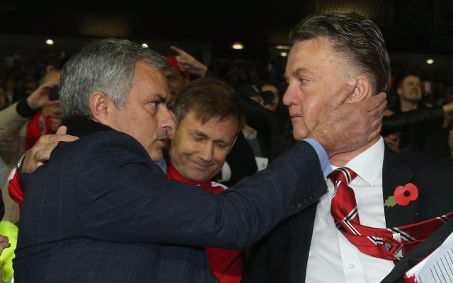 Louis Van Gaal Offers To Share Bottle Of Wine With Jose
