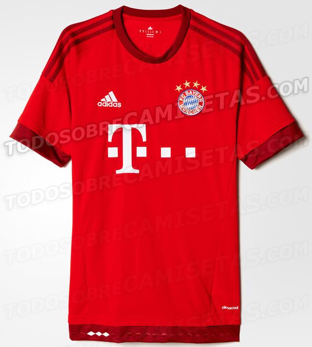 Bayern Munich kit 201516