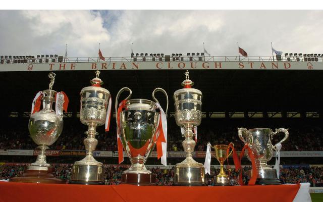Nottingham Forest trophies