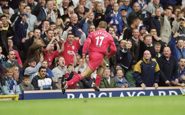 Steven Gerrard - Liverpool v Everton