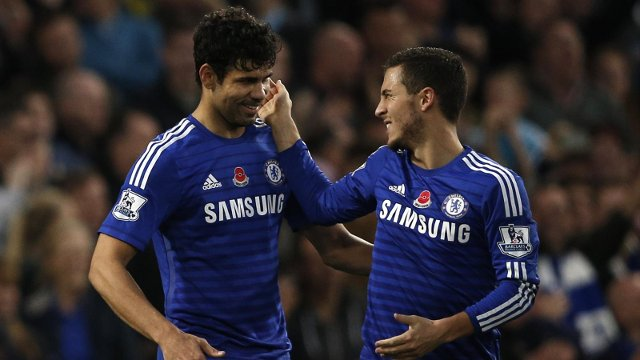Costa Hazard Chelsea