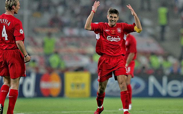 Gerrard in the Champions League final